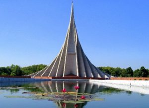 MBBS in Bangladesh, national memmorial front