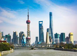 MBBS IN CHINA, shanghai skyline sunny day china