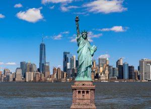 Fortune Education, statue liberty scene new york