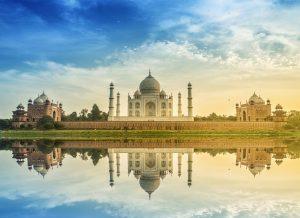 MBBS IN INDIA, taj mahal scenic morning view taj-mahal monument unesco world heritage site agra india