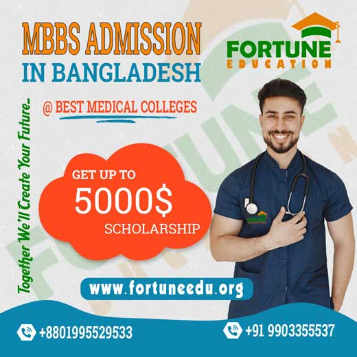 Fortune Education mbbs in bangladesh scholership up to $5000 jpg 01